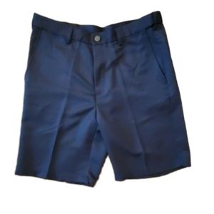 HAGGAR SHORTS NEW WITH TAGS SIZE 34 NAVY BLUE